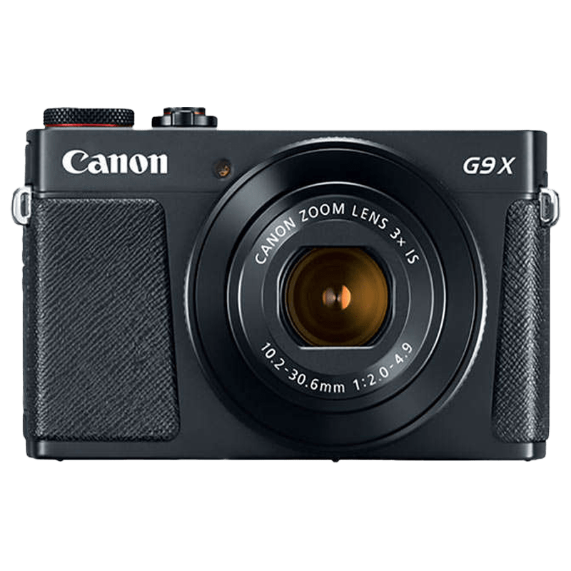 Canon PowerShot 20.2 MP Digital Camera (G9 X Mark II, Black)