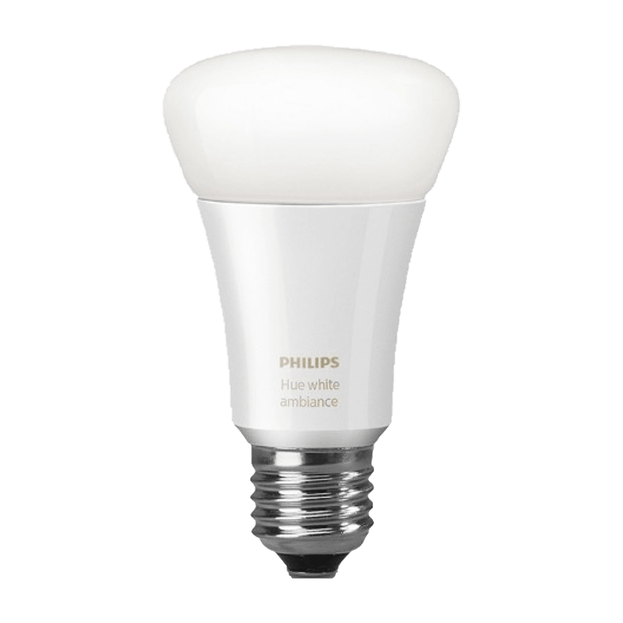 Philips Hue Electric Powered 9.5 Watt Smart LED Bulb (929001200126, White)
