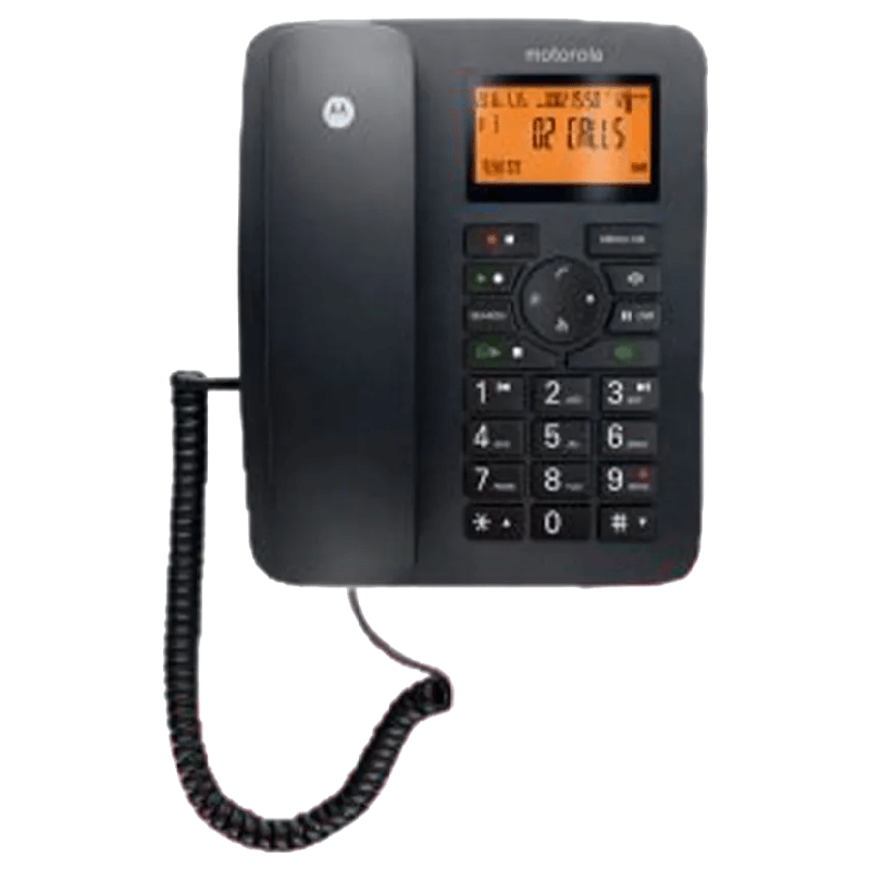 Motorola Corded Phone (CT111, Black)