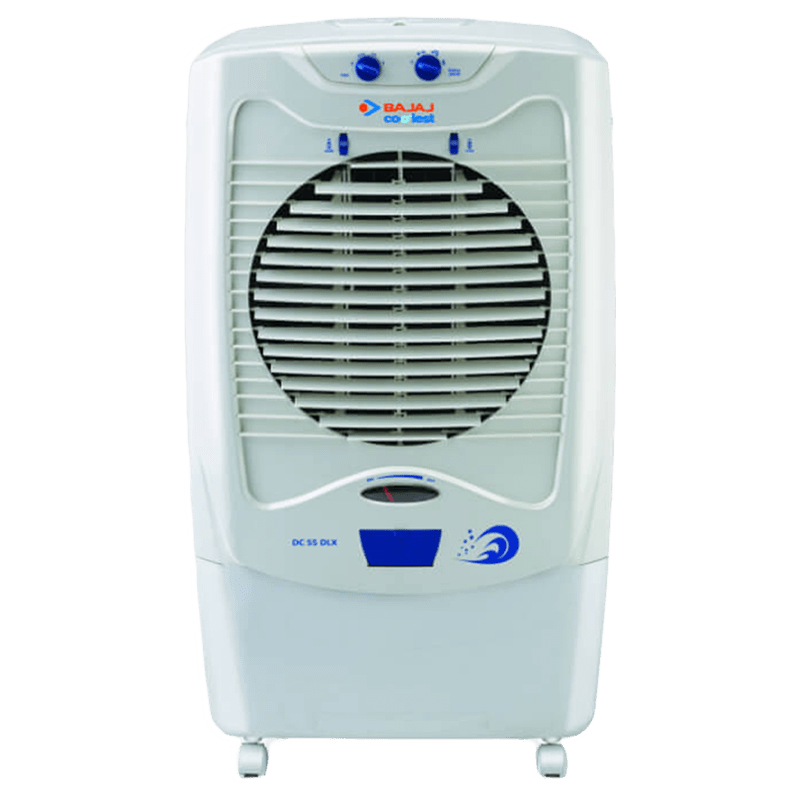 Bajaj Glacier 54 Litres Desert Air Cooler (DC 55 DLX, White)