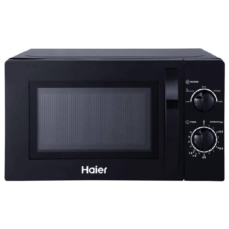 Haier 20 Litres Solo Microwave Oven (HIL2001MWPH, Black)