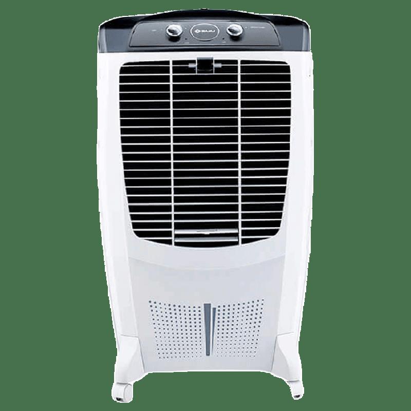 Bajaj 67 Litres Room Air Cooler (Honeycomb Hexacool Pads, DMH67, White)