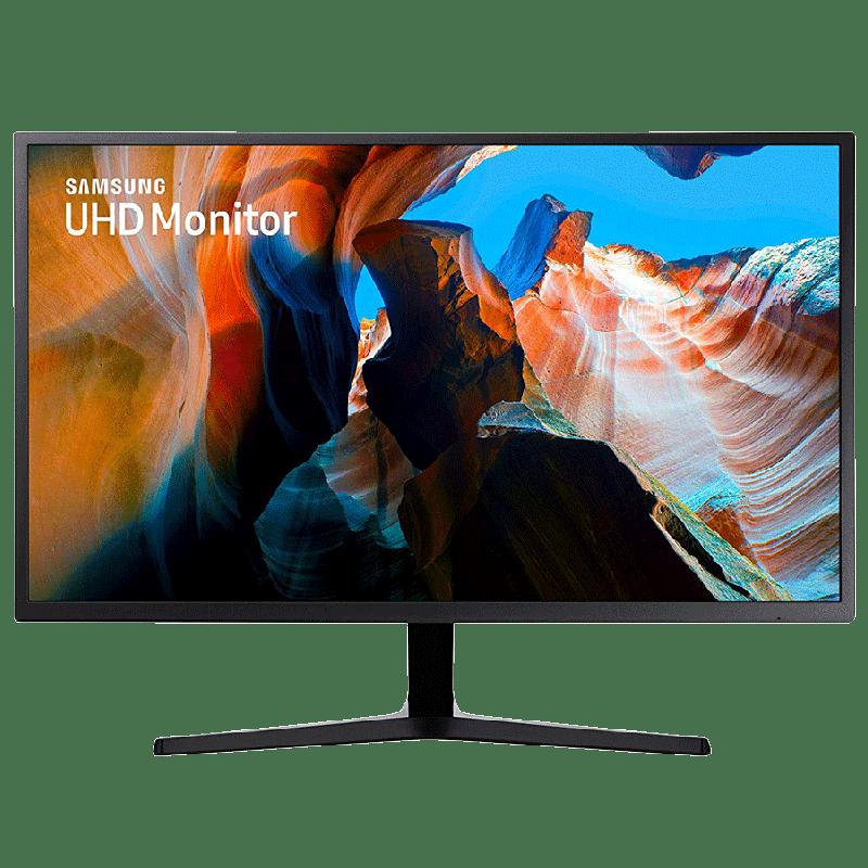 Samsung 32 Inch (81.28 cm) UHD 4k QLED Monitor (LU32J590UQWXXL, Dark Blue Gray)