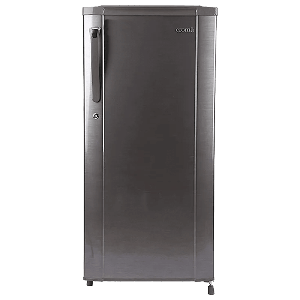 Croma 190 L 2 Star Direct Cool Single Door Refrigerator (CRAR0216, Brushline Silver)