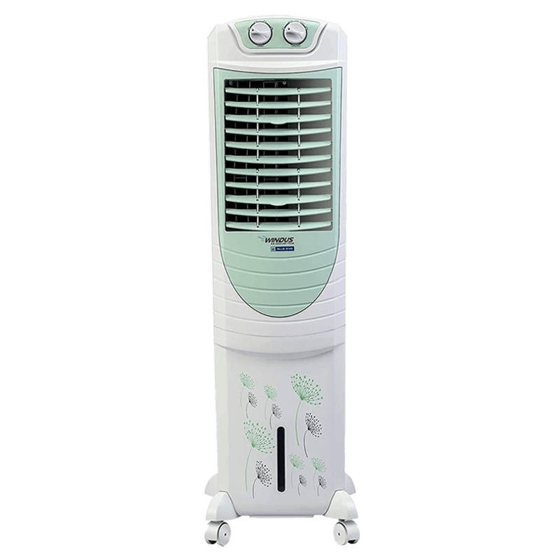 Blue Star 35 Litres Tower Air Cooler (UV Protect Coat, PA35LMA, Apple Green/White)