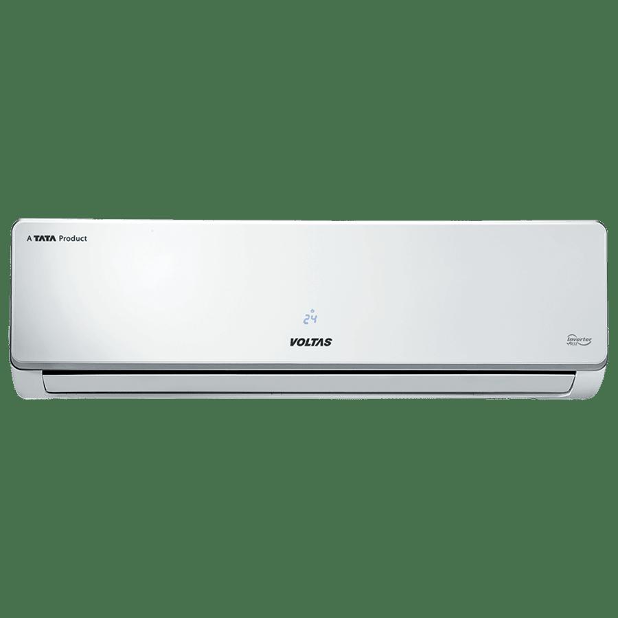 Voltas 1.5 Ton 5 Star Inverter Split AC (Copper Condenser, 185V ADS R32, White)