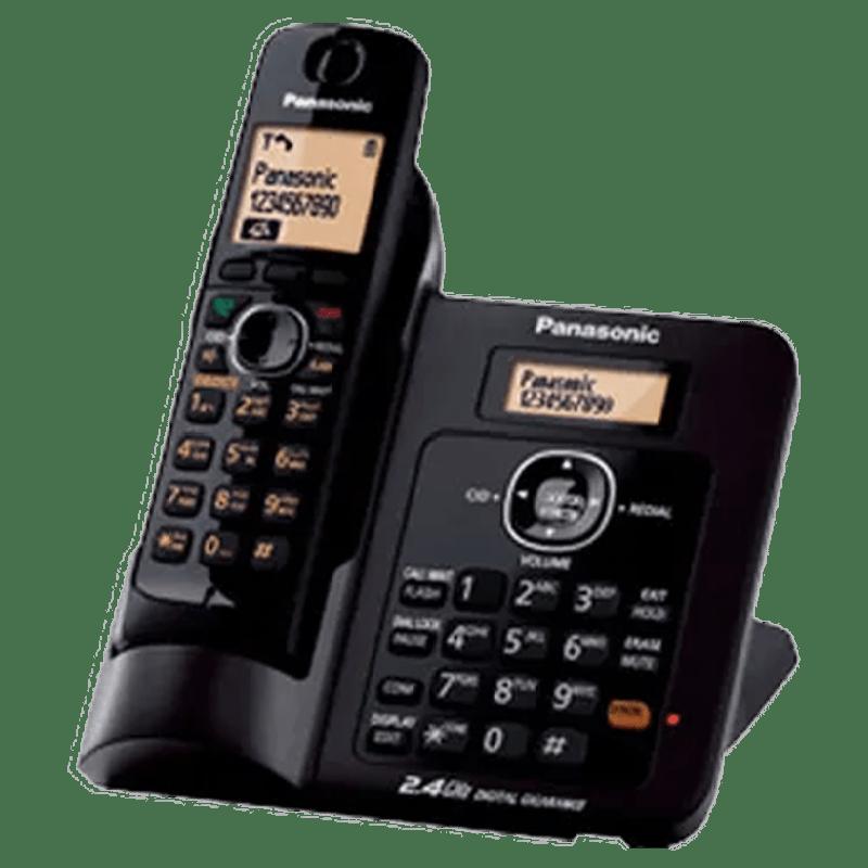 Panasonic Cordless Phone (KX-TG3811, Black)