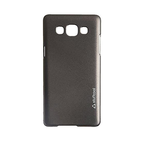 Stuffcool Element Plastic Hard Back Case Cover for Samsung Galaxy A5 (EMSGA5-BLK, Black)_2