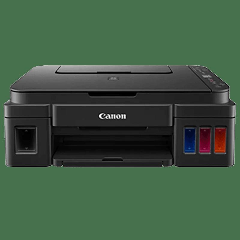 Canon Pixma All-in-One Ink Tank Printer (G3010, Black)