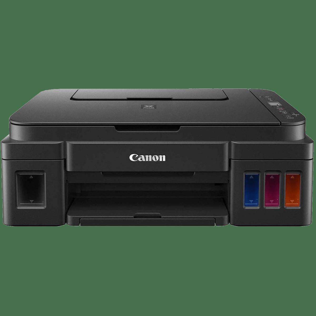 Canon Pixma All-in-One Ink Tank Printer (G2010, Black)