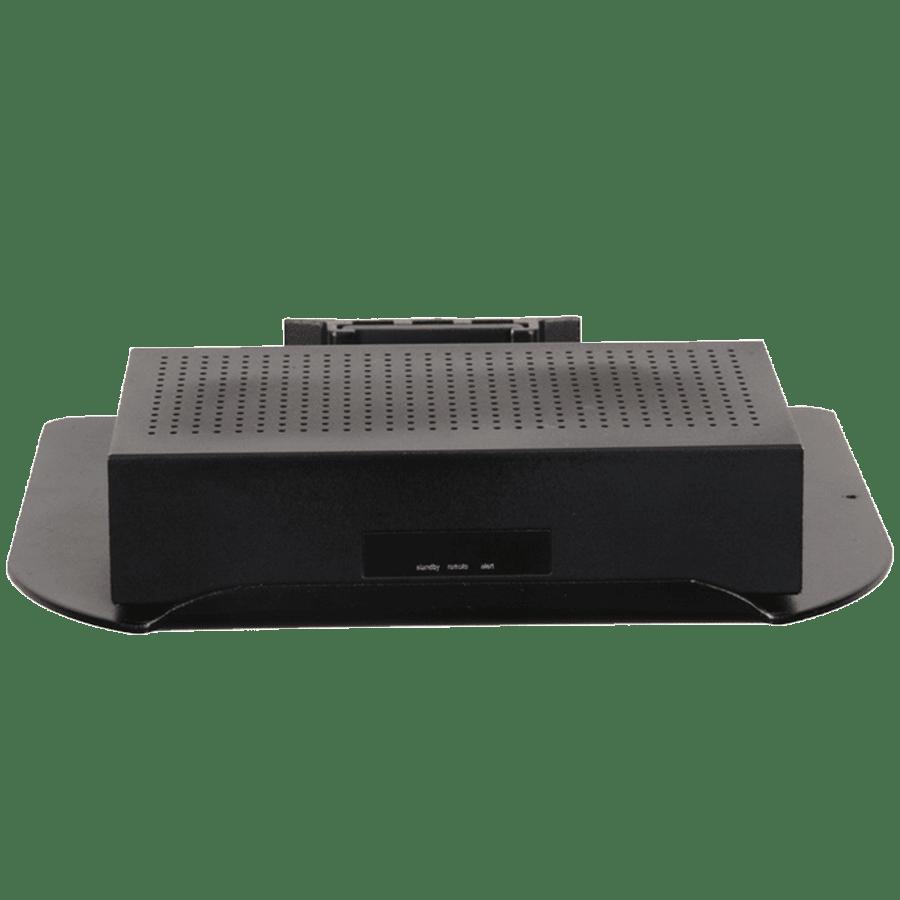 RD Plast Wall Mount Set-Top Box Stand (RW 4010-2, Black)