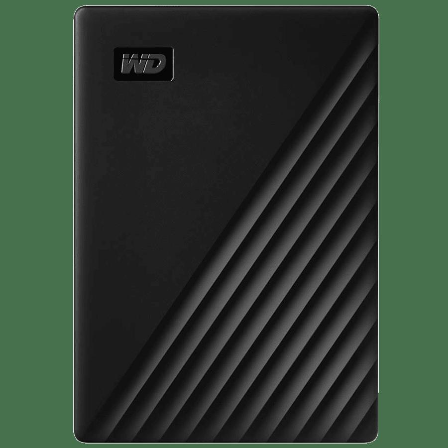 Western Digital My Passport 5TB USB 3.2 Hard Disk Drive (WDBPKJ0050BBK-WESN, Black)