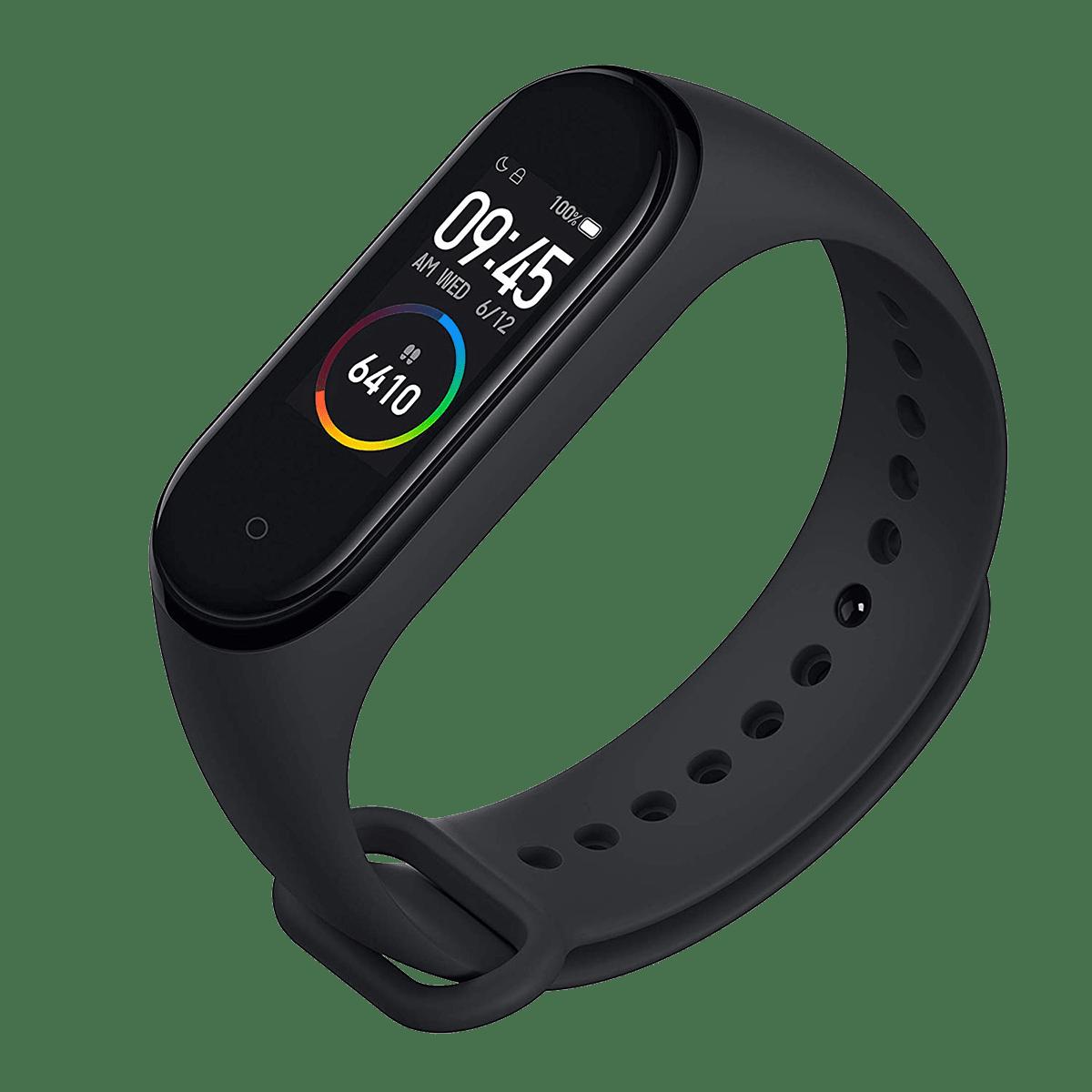 Xiaomi Mi Band 4 Fitness Tracker (24.1mm) (Heart Rate Sensor, MGW4054IN, Black, TPU Band)