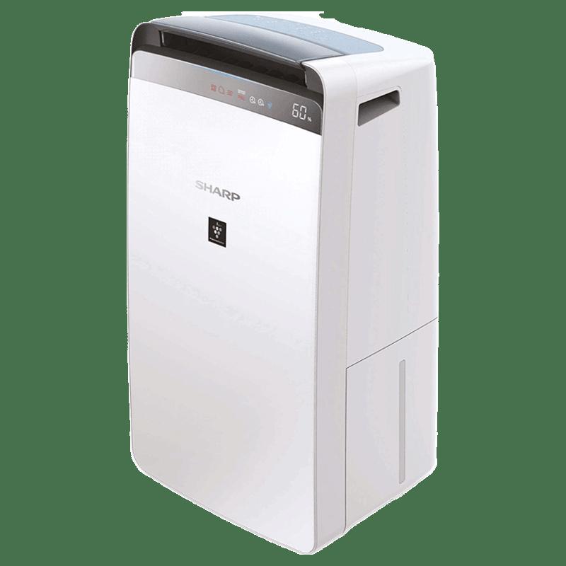 Sharp Air Purifier with Dehumidifier (DW-J20FM-W, White)