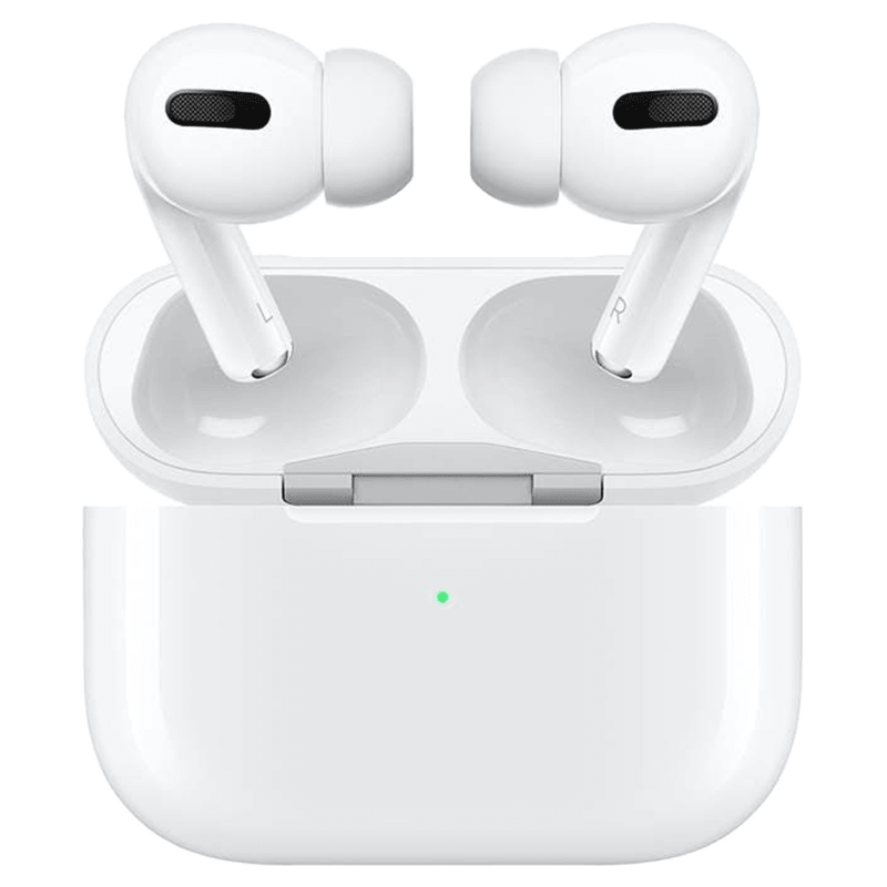 Apple Airpods Pro In-Ear Truly Wireless Earbuds with Mic (Bluetooth 5.0, with Wireless Charging Case, MWP22HN/A, White)