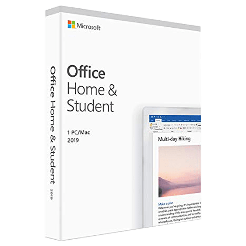 Microsoft Office Home & Student 2019 (1 PC/1 User)