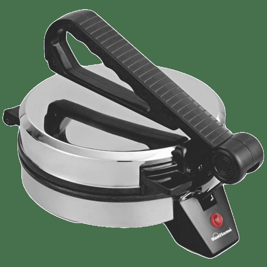 Sunflame 900 Watt Roti Maker (RM-1, Silver/Black)
