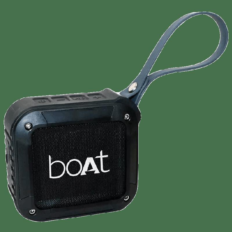 Boat Bluetooth Speaker (Stone 210, Black)