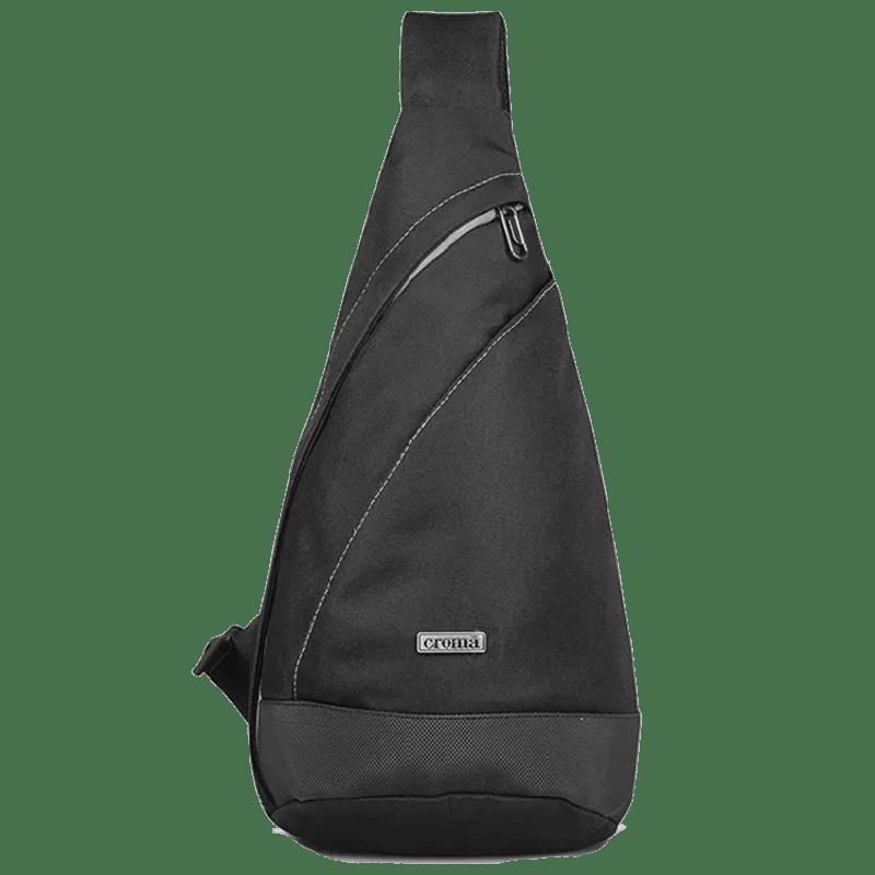 Croma Travel Gear Bag (CRIA2013, Black)