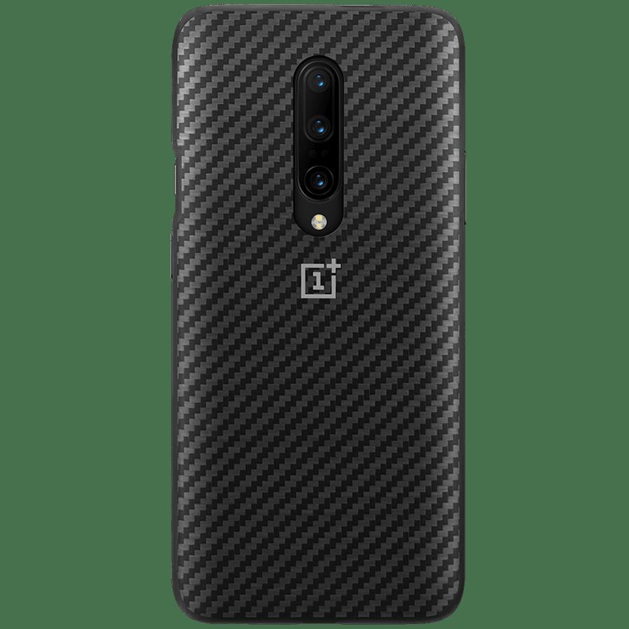 OnePlus 7 Pro Bumper Back Case Cover (5431100076, Karbon Black)