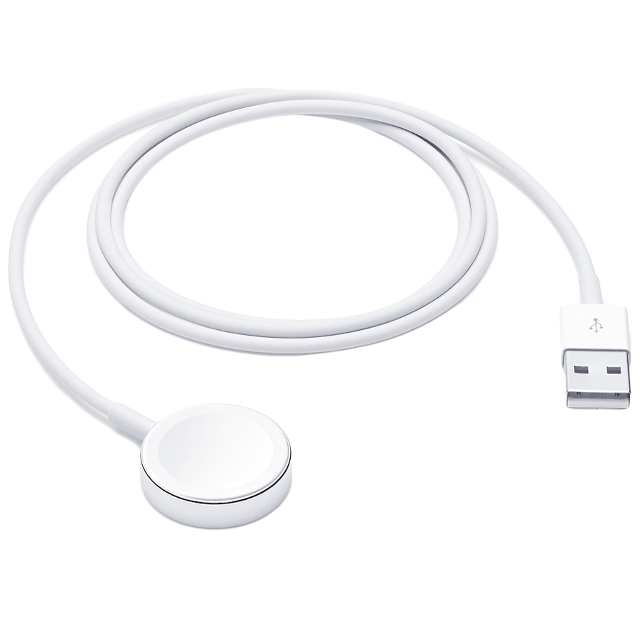 Apple 100 cm USB (Type-A) to Magnetic Charging USB Cable (RWACR004, White)_1