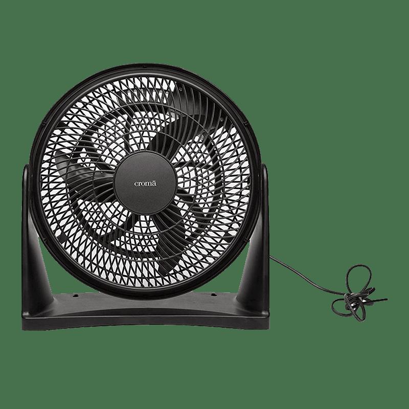 Croma 3 Blade Pivot Fan (CRF0026, Black)