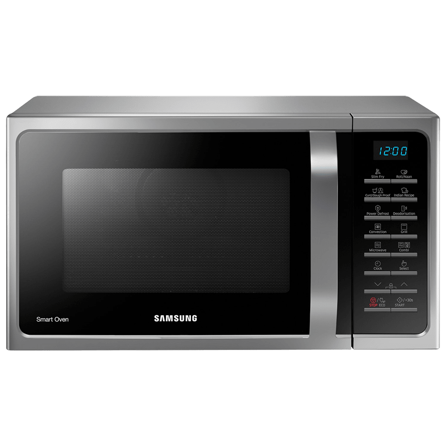Samsung 28 Litres Convection Microwave Oven (Tandoor Technology, MC28H5025VS/TL, Silver)