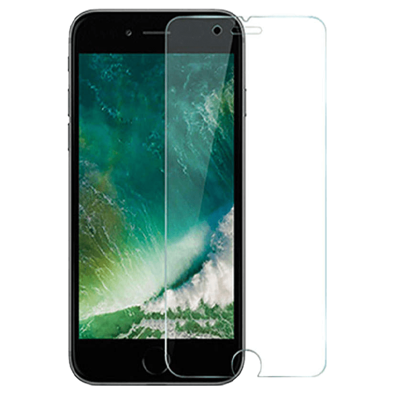 Catz Tempered Glass Screen Protector for Apple iPhone 8 Plus (CZAI8SP-TG0, Transparent)_1