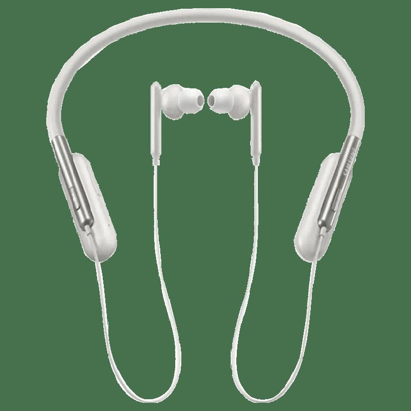 Samsung U Flex Bluetooth Earphones (EO-BG950, White)