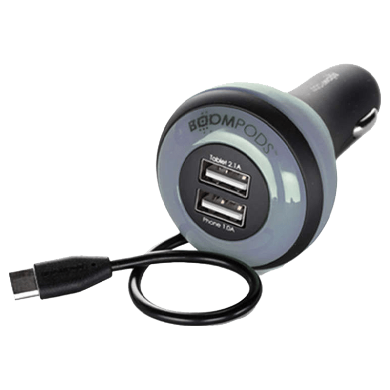 Boompods Carpod In-Car Charger (BP-CP-6-BLK, Black)_1