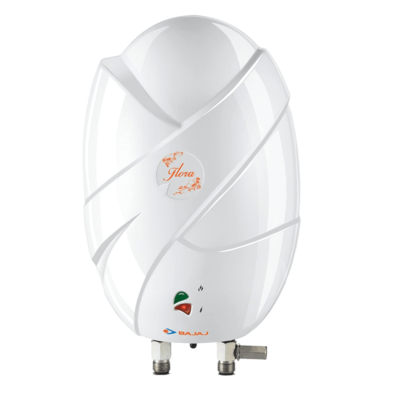Bajaj Flora 3 Litres Instant Water Geyser (4500 Watts, White)