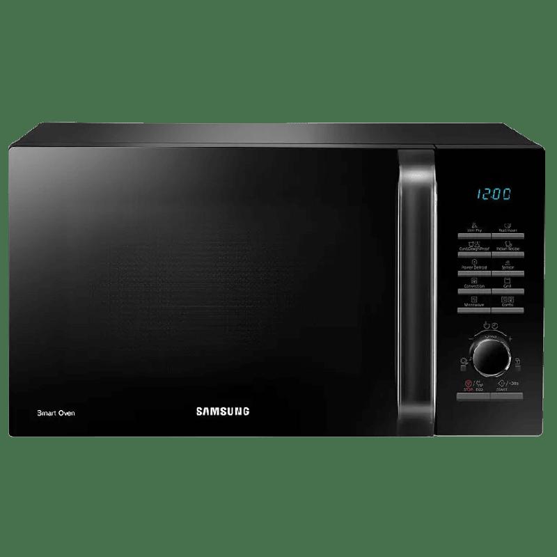 Samsung 28 Liters Convection Microwave Oven (Moisture Sensor, MC28H5145VK/TL, Black)