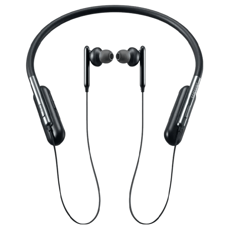 Samsung U Flex Bluetooth Earphones (EO-BG950, Black)