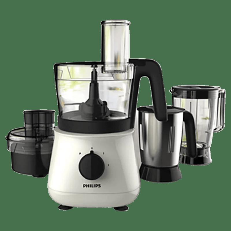 Philips 700 Watt Food Processor (5 Jars, HL1661/00, White)
