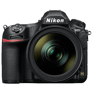 Nikon 45.7 MP DSLR Camera Body with 24 - 120 mm Lens (D850, Black)