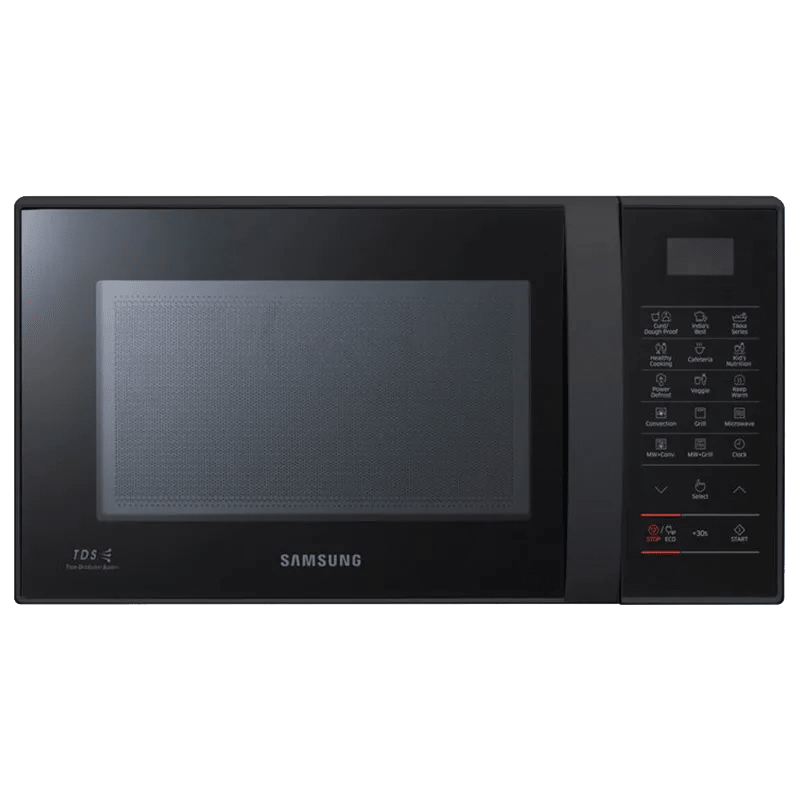 Samsung 21 Litres Convection Microwave Oven (Touch Control, CE76JD-MB/TL, Black)