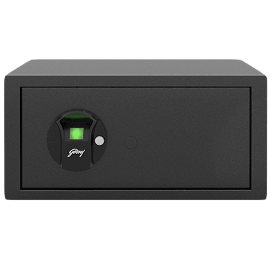 Godrej 25 Litres Safe Bio Smart Locks (NX Pro, Grey)
