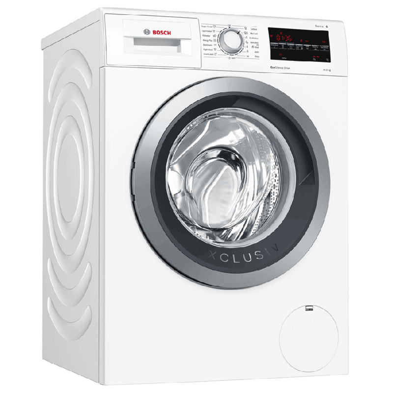 Bosch Serie 6 10 Kg Fully Automatic Top Load Washing Machine (WAU28460IN, White)