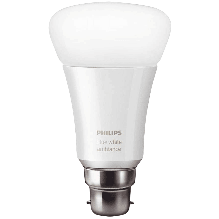 Philips Hue Electric Powered 10 Watt Smart Bulb (B22, White)