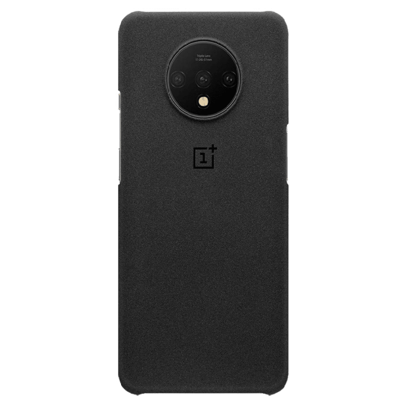OnePlus 7T Protective Polycarbonate Back Case Cover (5431100109, Sandstone)