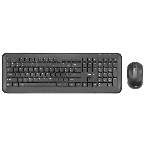 Targus 1600 DPI Keyboard & Mouse Combo (AKM610AP, Black)