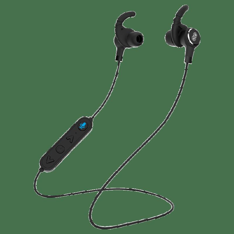 Eleon Puriya Bluetooth Earphones with Built-in Alexa (ELEA7305, Black)