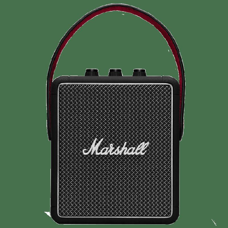 Marshall Stockwell II Portable Bluetooth Speaker (MS-STWL2, Black)