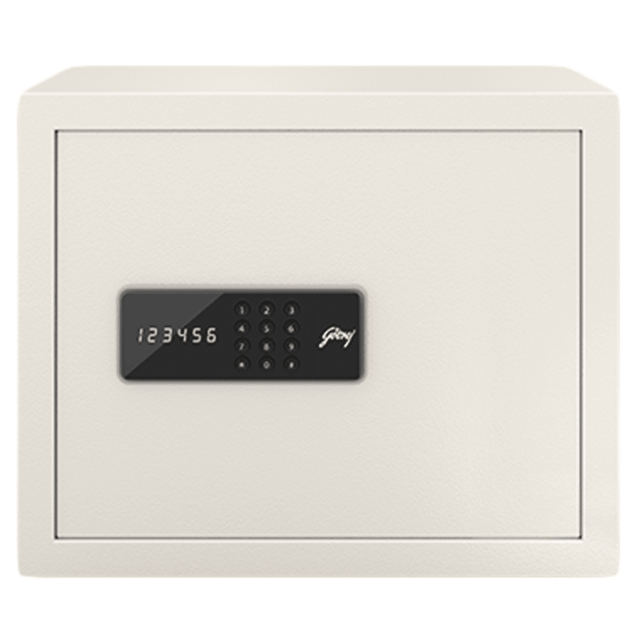 Godrej 30 Litres Safe Digital Locking Systems (NX Pro, Ivory)