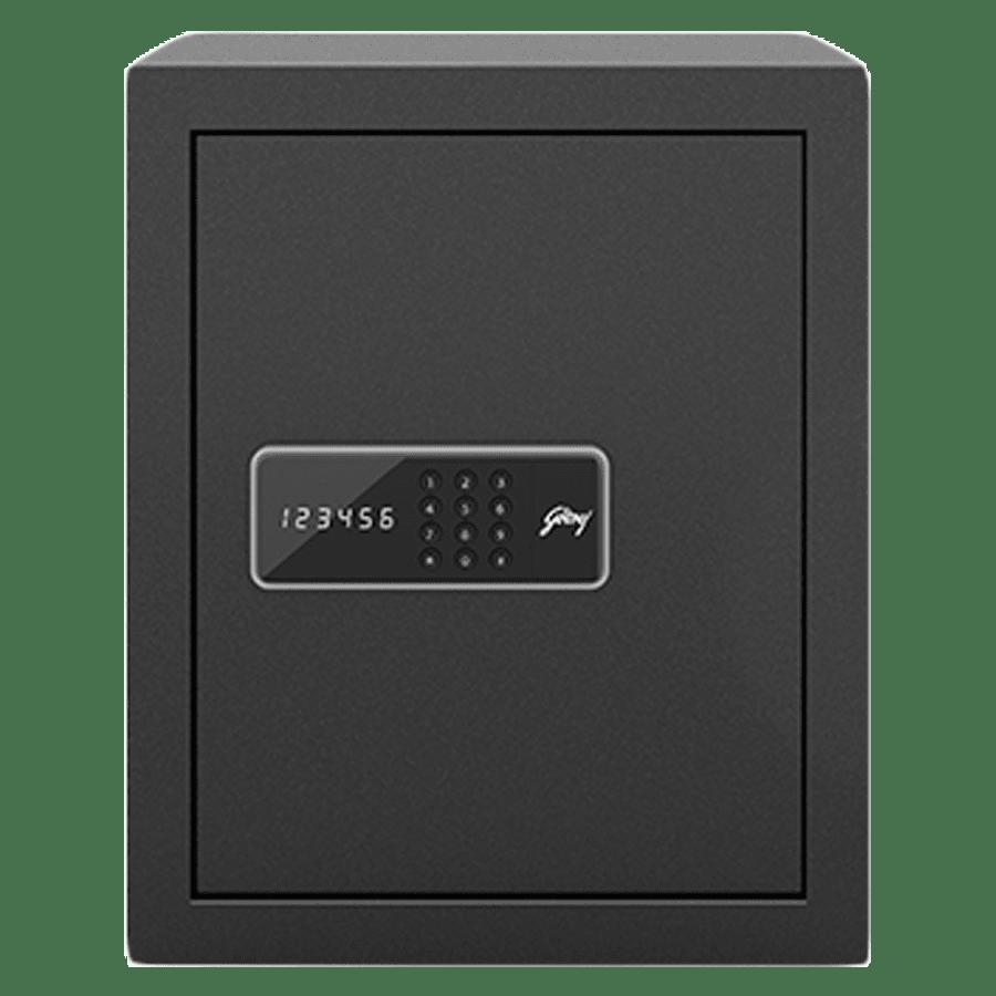Godrej 40 Litres Safe Digital Locking Systems (NX Pro, Grey)
