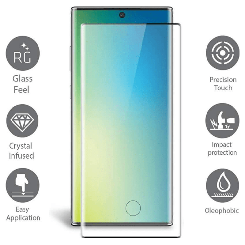 Scratchgard 3D Screen Protector for Samsung Galaxy Note 10 Pro (Transparent)_4