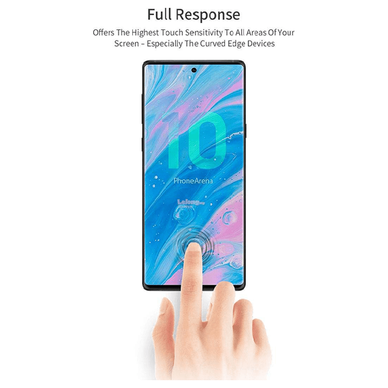 Scratchgard 3D Screen Protector for Samsung Galaxy Note 10 Pro (Transparent)_5