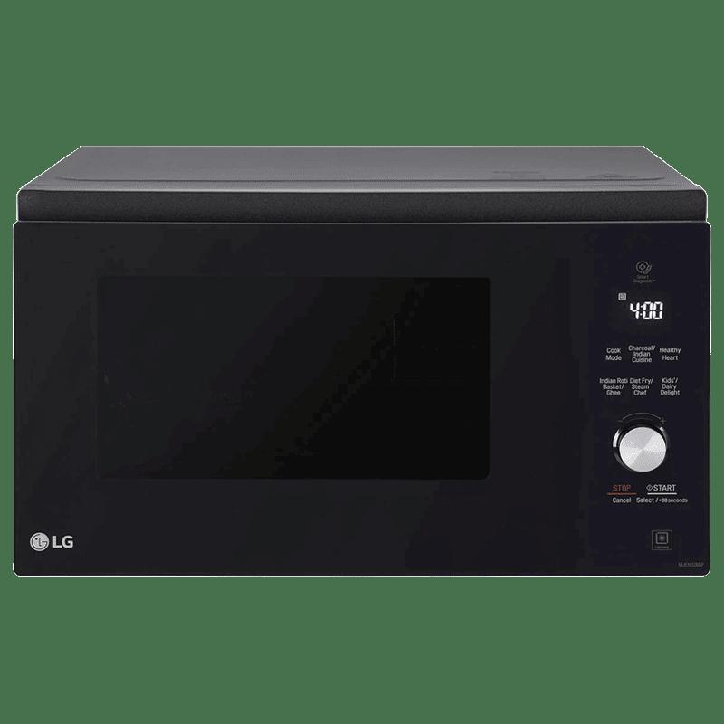 LG 32 Litres Convection Microwave Oven (MJEN326SF.DBKQILN, Black)