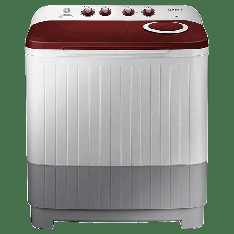 Samsung 7.2 kg Semi Automatic Top Load Washing Machine (WT72M3000HP/TL, Light Grey)