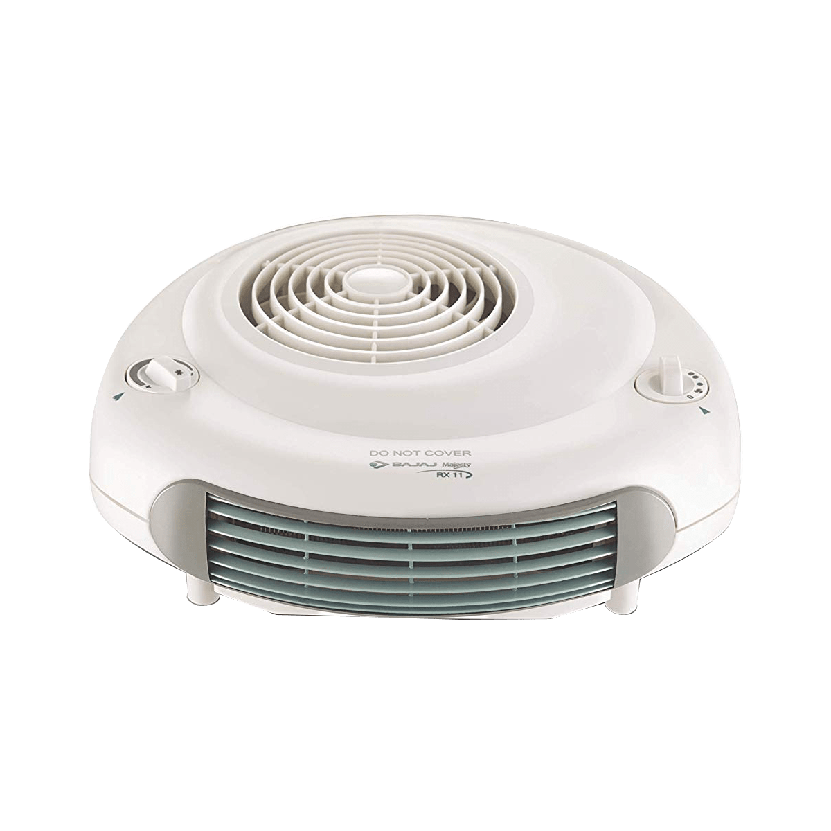 Bajaj Majesty 2000 Watts Fan Room Heater (Auto Thermal Shutoff, RX11, White)